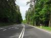Pierwszy zjazd-skrzyżowanie od wyjazdu z Olsztyna trasą51 i 1minuta SAK