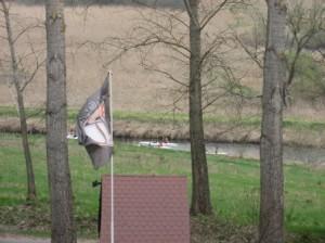 W naturalnym środowisku koło Hotel Olsztyn SAK Spływ kajakami rzeka Łyna