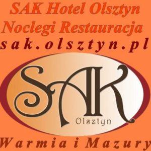Logo Hotelu SAK Olsztyn Warmia i Mazury