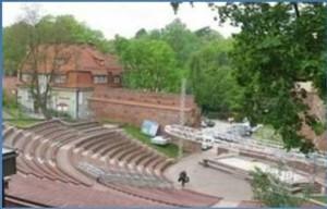 Weekend w Olsztynie amfiteatr imprezy
