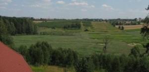 Widok na Olsztyn z okna Hotelu SAK