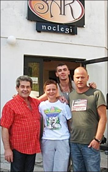 Kamil Bednarek Menadżerowie Aneta i Krzysztof Wojewódzki Gościli w Hotelu SAK