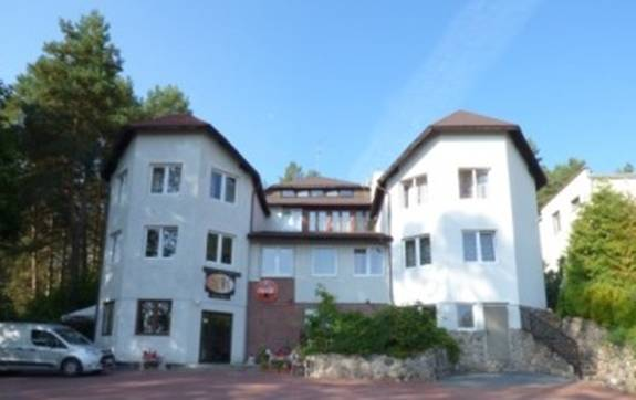 SAK Hotel Olsztyn jesienią