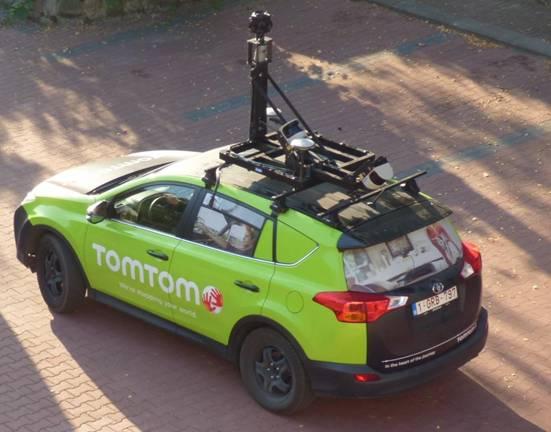 TomTom w SAK Hotel Olsztyn aktualizacja Street View