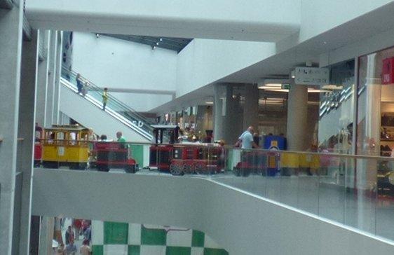 Pociąg dla dzieci Galeria Warmińska
