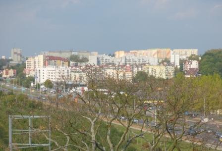 Pojezierze Olsztyn okolice Tesco