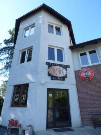 Wejście Główne Hotel SAK Olsztyn na weekend