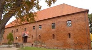 Gotycki Zamek Ostróda zabytki