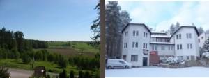 SAK Hotel Okolice Olsztyna 4 pory roku