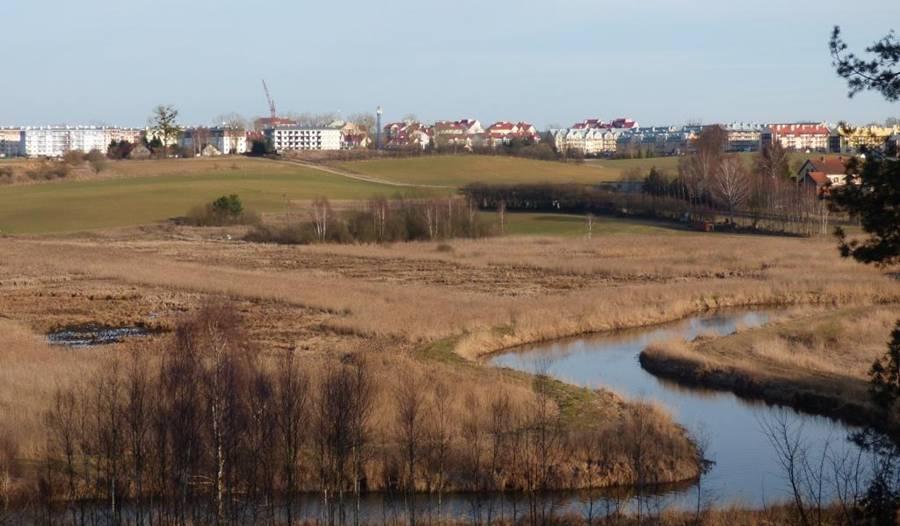 Jaroty Olsztyn Osiedle Zacisze widok z Hotelu SAK
