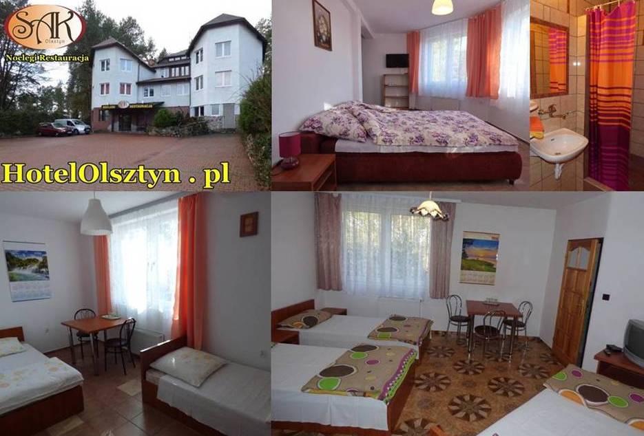 SAK Hotel Olsztyn Pokoje z łazienkami, TV, WiFi